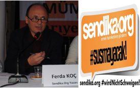 Repressionen gegen die demokratischen Kräfte nehmen zu. / Sendika.org-Autor Ferda Koc wurde Berufsverbot erteilt