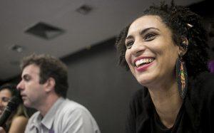 Die Menschenrechtsaktivistin und Abgeordnete der PSOL, Marielle Franco