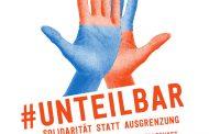 Demonstration: 13. Oktober 2018 – 13:00 Uhr Berlin / #unteilbar Für eine offene und freie Gesellschaft – Solidarität statt Ausgrenzung!