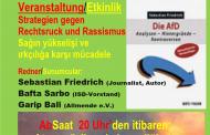 21.März Berlin Allmende Veranstaltung zum Internationalen Tag gegen Rassismus und NEWROZ