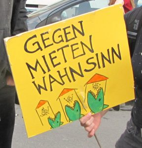 Berlin / Aufruf zur Demonstration: Gemeinsam gegen Verdrängung und #Mietenwahnsinn am 06. April 2019