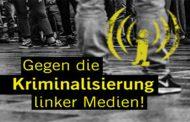 "Staatsanwaltschaft klagt drei Berliner AutorInnen wegen Unterstützung des vermeintlichen Vereins ""linksunten.indymedia"" an - Peter Nowak / Achim Schill / Detlef Georgia Schulze"