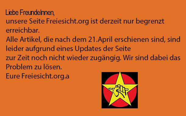 Liebe FreundeInnen von Freiesicht.org,