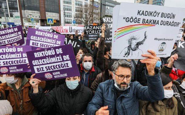 Wider die Zwangsverwaltung von Erdoğans Gnaden - Boğaziçi Dayanışma