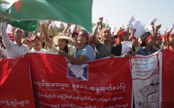 Myanmar: Selbst kleineste demokratische Regungen sind dieser Bande zu viel